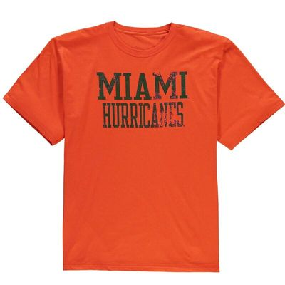 Miami Hurricanes Straight Out T-Shirt - Orange