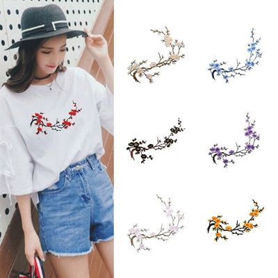 Retro Embroidery Cloth Paste Delicate Clothing Accessories Diy Paste Fill Hole Patches Stick Applique Wedding Dress Decorative