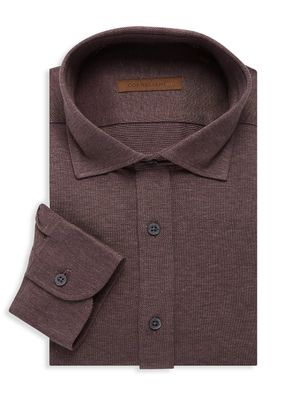Corneliani Textured Dress Shirt