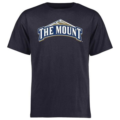 Mount St. Mary's Mountaineers Big & Tall Classic Primary T-Shirt - Navy