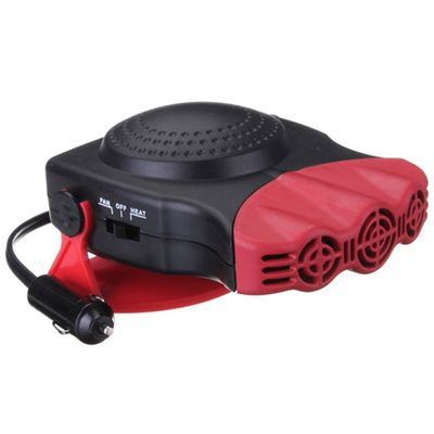 2 In 1 12V 150W Auto Car Heater Portable Car Heater Heating Fan With Swing-out Handle Cooling Fan 3-Outlet Defrosts Defogger #2