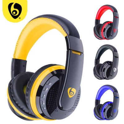 OVLENG MX666 Over Ear Bass Stereo Bluetooth Headphone Wireless Headset Support Micro SD TF Card Radio Microphone Gaming Earphone