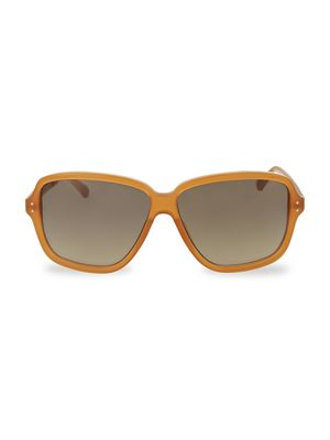 Linda Farrow Novelty 61MM Square Sunglasses