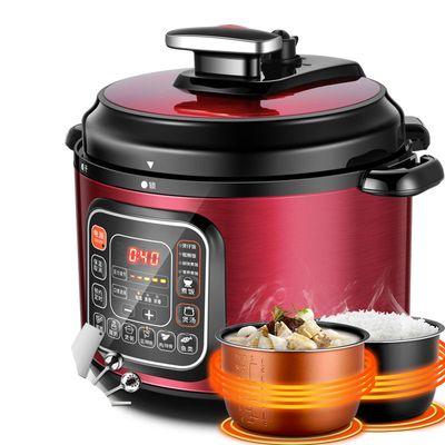 Electric Pressure Cookers Intelligent 5L electric pressure cooker double - tank household high cooker.