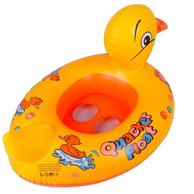 Yellow Duck  Float Kids Inflatable Baby Toddler Swimming Whale Swim Seat Pool Fish Ring new