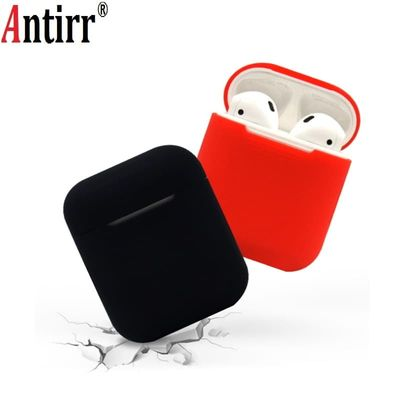 Multi-color Silicone Skin Anti-Lost Wireless Dustproof Case Proof Protector Cover Bluetooth Earphone Accessories For Airpods