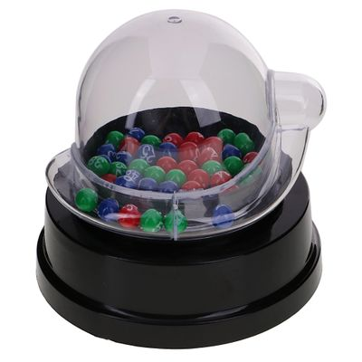 Quality Mini Electric Lucky Number Picking Machine for Lottery Bingo Pub Club Games Promotion Restaurants Cafes Game Supplies