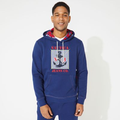 Nautica Nautica Jeans Co. Graphic Pullover Hoodie