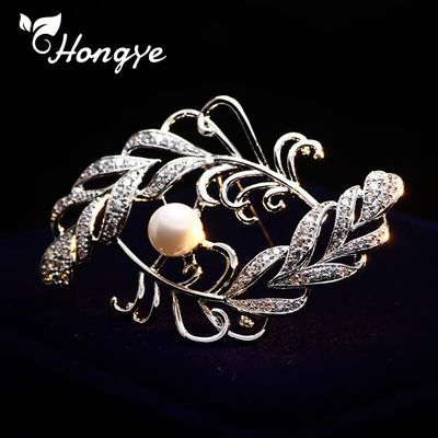 Sterling Silver 925 Flower Brooch Pins Coat Dress Scarf Accessories Natural Freshwater Pearl Decorative Beautiful Brooches New