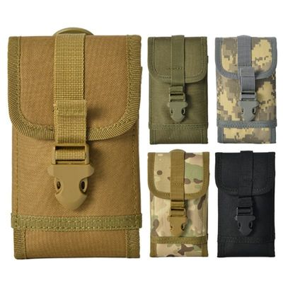 Tactical Outdoor Military Molle Utility Bag Waist Accessories Bag Phone Belt Pouch Cell Phone Holder Mobile Phone Case J7