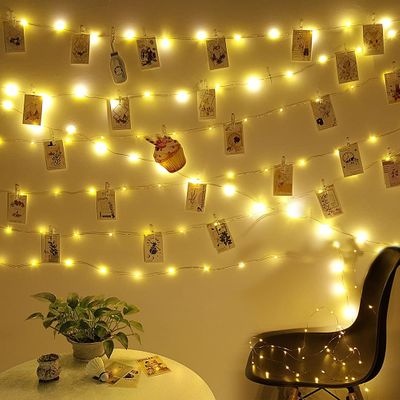 2M / 5M / 10M USB LED new exotic lights outdoor garland photo clip decorative fairy tale / string light chain battery Christmas