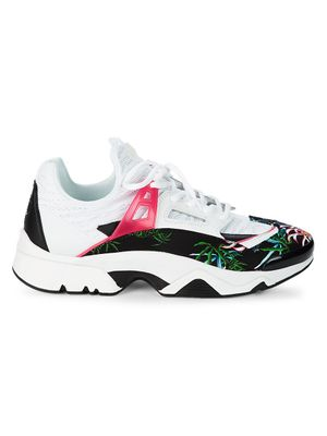 Kenzo Graphic Low-Top Sneakers