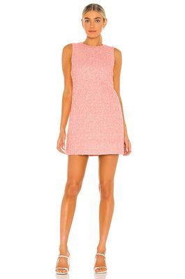 Alice + Olivia Coley Crew Neck Aline Dress