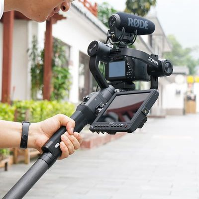 Aluminum alloy Extend Rod Pole Stick for Dji Ronin S Osmo Vimble 2 Crane Smooth 4 Feiyu G6 G5 AK4000 A2000 Telescopic Handheld