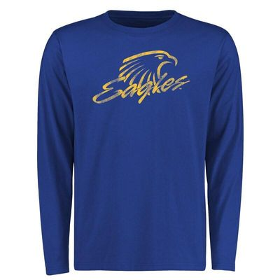 Embry-Riddle Eagles Big & Tall Classic Primary Long Sleeve T-Shirt - Royal