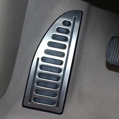 Car Pedal Footplate Footboard Foot Rest Pedal Cover for Ford Focus 2 3 4 MK2 MK3 MK4 Fiesta Mondeo Fusion Kuga Escape