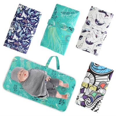Diapering Pad Baby Changing Mat Animal Pattern Waterproof Diaper Changing Pads Travel Friendly Infant Baby Super Mat