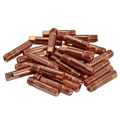 20pcs CO2 Mig Contact Tips 0.8x25mm For MB15 15AK Mag Mig Welding Torch Consumables Accessories