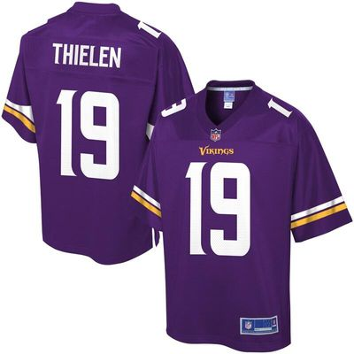 Adam Thielen Minnesota Vikings NFL Pro Line Team Color Player Jersey - Purple