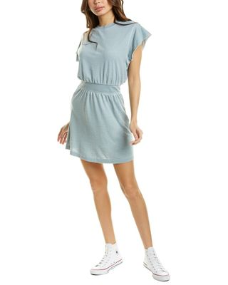 Grey State Terry Mini Dress