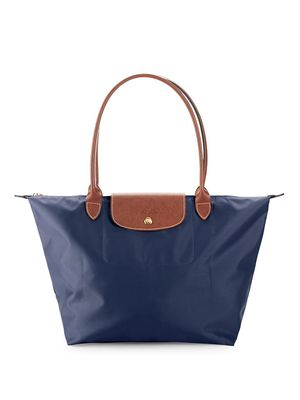 Longchamp Large Le Pliage Zip Tote