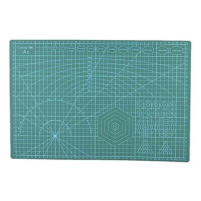 A3 Grid Lines PVC Cutting Mat Self-healing Paper Leather Fabric Cutting Board