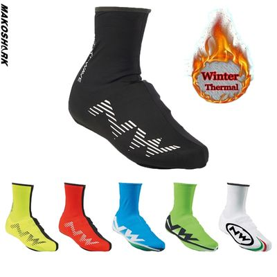 New Winter Thermal Cycling Shoe Cover Sport Mans MTB Bike Shoes Covers Bicycle Overshoes Cubre Ciclismo for Man