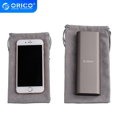 ORICO SA1810 Portable Drawstring Pouch For Phone /Power Bank Velvet Packaging Bags &  Gift bags For many Objects