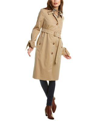Burberry Tropical Belted Trench Coat