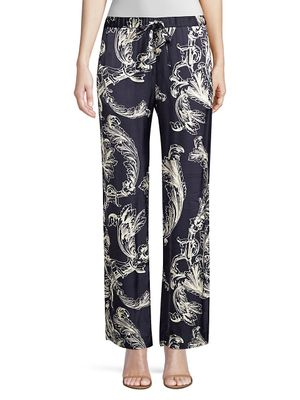 Stine Goya Aileen Wide Leg Printed Pants