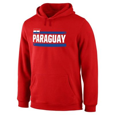 Paraguay Fanatics Branded Devoted Pullover Hoodie - Red