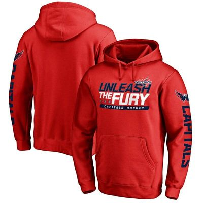 Washington Capitals Hometown Collection Pullover Hoodie - Red