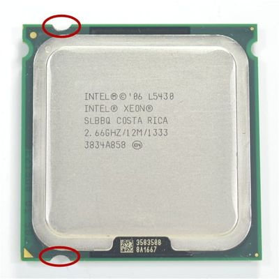Intel Xeon L5430 2.66GHz 12M FSB1333 perfect support 775 pin board is equal to Q9450 quad core CPU low power consumption