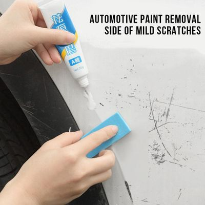 Car Scratch Remover Kits with Sponge Car Care Auto Body Compound Wax Paint Care Polishing Grinding Paste Paint Care Car-styling