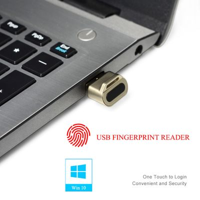 Mini USB Fingerprint Reader module device recognition for Windows 10 hello Biometric Security Key 360 touch