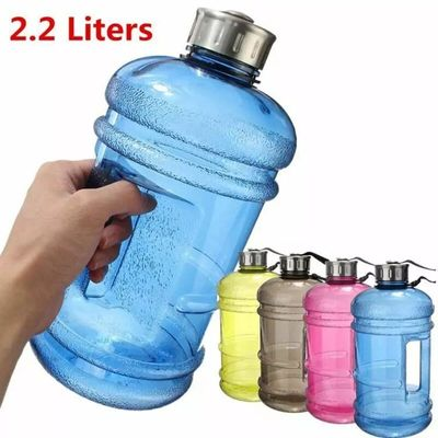 2.2L Sports Water Jug Sport Fitness Travel Hiking Water Large Bottles