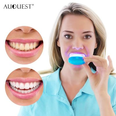 AuQuest Teeth Whitening LED Light Bleaching Teeth Accelerator Tooth Cosmetic Tool Laser Dental Teeth Whitening Care