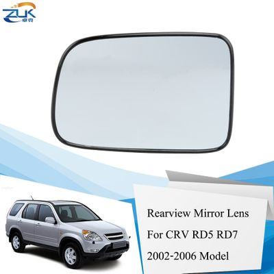 ZUK Left Right Heated Side Rearview Mirror Glass Lens For HONDA CRV RD5 RD7 2002 2003 2004 2005 2006 76253-SPA-H01 76203-SPA-H01