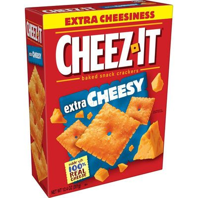 Cheez-It Extra Cheesy Baked Snack Cheese Crackers, 12.4 oz
