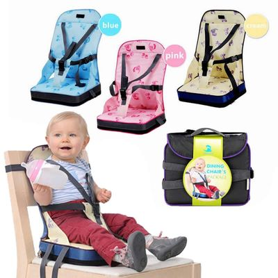 Portable Baby Chair Bag Foldable Infant Travel Booster Seat Momy Bag Kids Feeding Safety Seat Newborns Nursing Dining High Chair