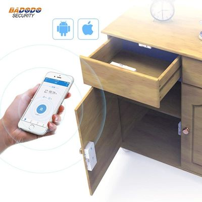 Wireless Bluetooth Keyless Smart cabinet Lock Invisible Anti-Theft IOS Android APP control for cabinet drawer electric locker