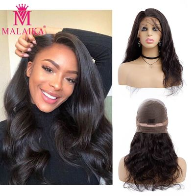 Body Wave full Lace Human Hair Wigs For Black Women Pre Plucked Brazilian Body Wave Wig Natural Wig Full End Glueless