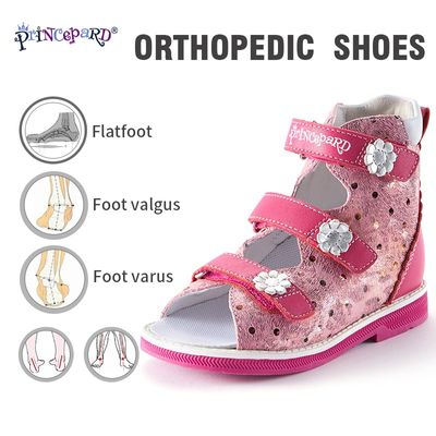 Princepard orthopedic shoes for children flat sandals baby boys girls sandals Orthopedic footwear for kids