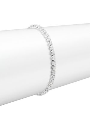 Diana M Jewels 14K White Gold & 2 TCW Diamond Tennis Bracelet