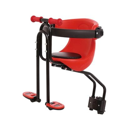 Child Bicycle Seat Safe Baby Front Bike Saddle Montain Bicycle Fence With Adjustable Height And Foldable Pedals