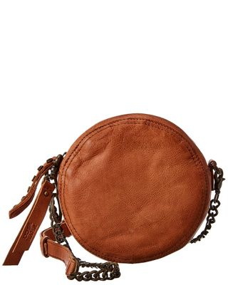 Frye Riley Leather Circle Bag
