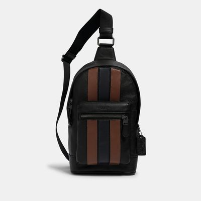 COACH West Pack With Varsity Stripe