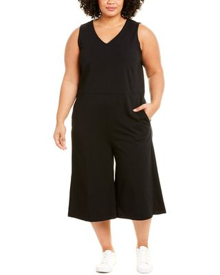 EILEEN FISHER Stretch Jersey Plus Jumpsuit