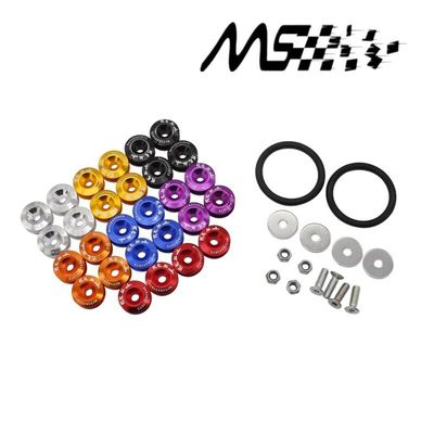 free shipping!!Quick Release Fasteners are ideal for front bumpers, rear bumpers, and trunk / hatch lids