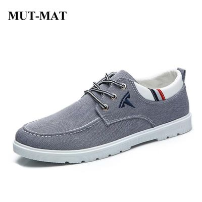 2019 New Style Casual Men's Canvas Shoes Bee Tendon Sole Lace-up Sneakers Tesla Embroidered Decoration Men Footwear